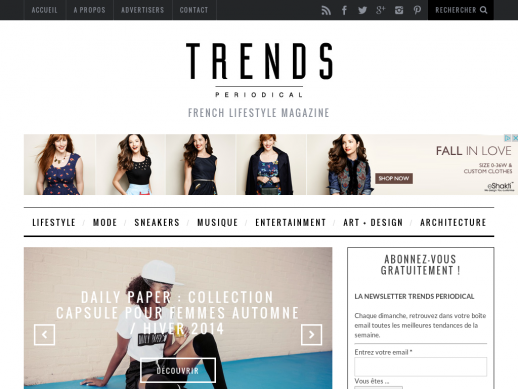 TRENDS Periodical