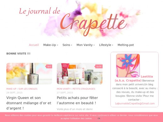 Le Journal De Crapette