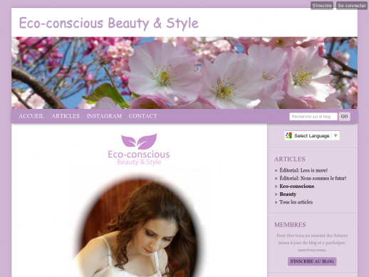 Eco Conscious Beauty & Style