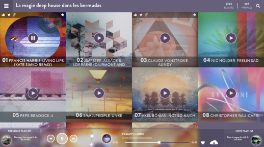 Les Playlists de Bordwood@