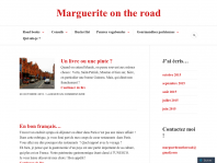 Marguerite on the road