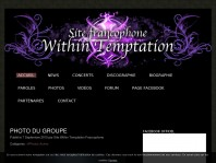 Site Francophone Within Temptation